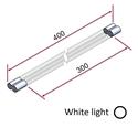 Picture of Irraggiatore IR-onde corte (luce bianca) 1800W 230V [parte riscaldante 300mm]