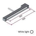 Picture of Lampada IR-onde corte (luce bianca) 3000W 400V completa di supporti e protezione [Ingombro 650mm - parte riscaldante 500mm]