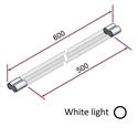 Picture of Irraggiatore IR-onde corte (luce bianca) 3000 W 400 V [parte riscaldante 500mm]