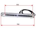 Picture of Lampada UV completa di plafoniera e supporti 14 W - 230 V