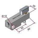 Picture of Testina per attrezzaggio attacco rapido con regolazione angolare 12° [PUSH AND PULL]®